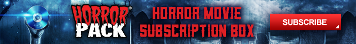 Horror Pack Subscription Box Service Horror Movies Blu-ray DVD
