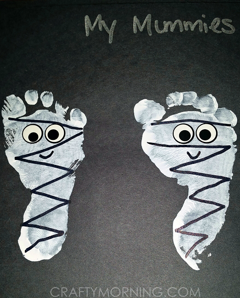 cute-footprint-mummies-halloween-kids-craftpng