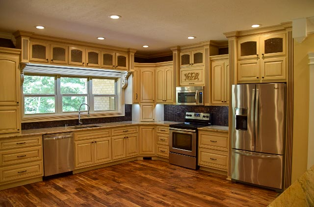 Custom Wooden Kitchen Cabinetry by Custom WoodCraft