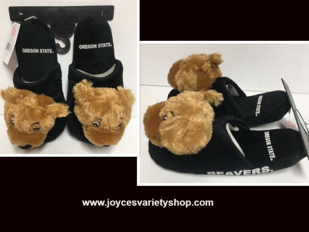 Oregon State University Beavers Cushion Memory Slippers Kid's Many Sz