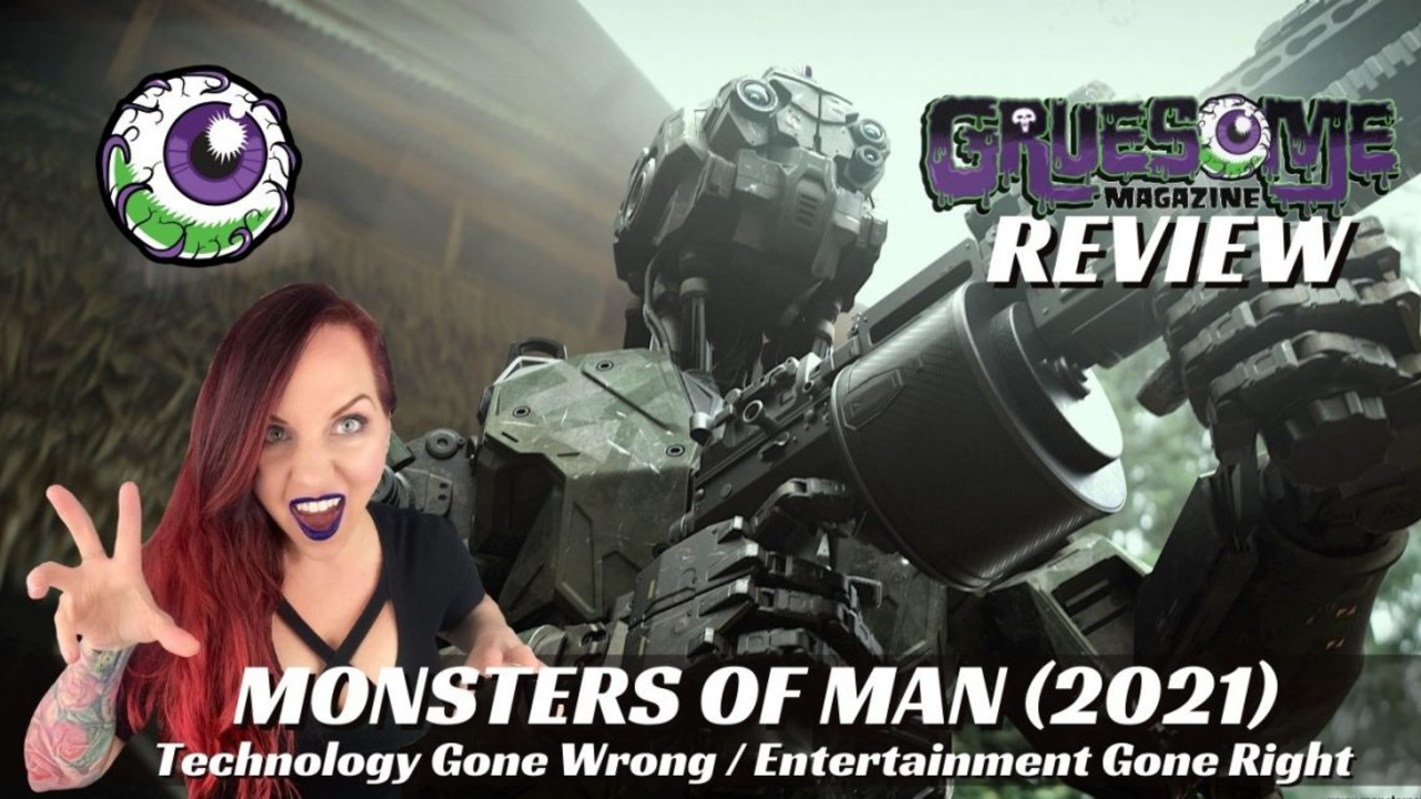Gruesome Magazine Monsters of Man Review