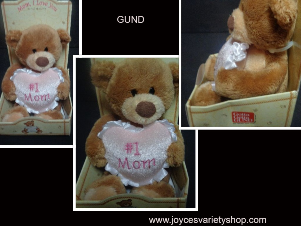 GUND Mini Bear #1 Mom I Love You