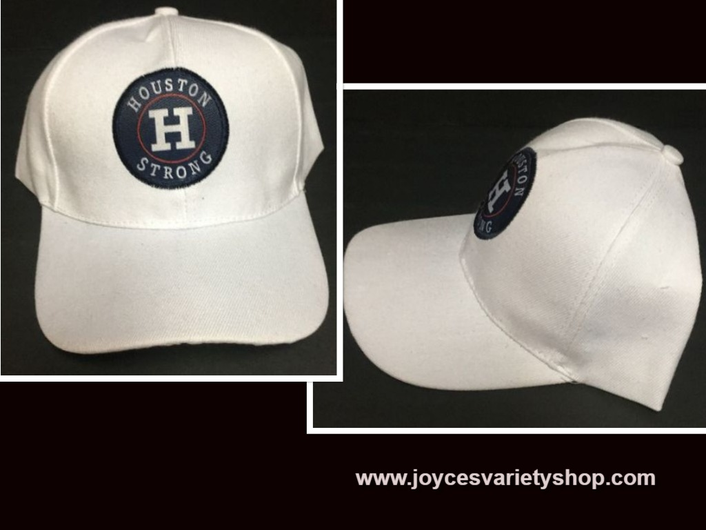 Houston Strong Base Ball Hat Adult Size Adjustable