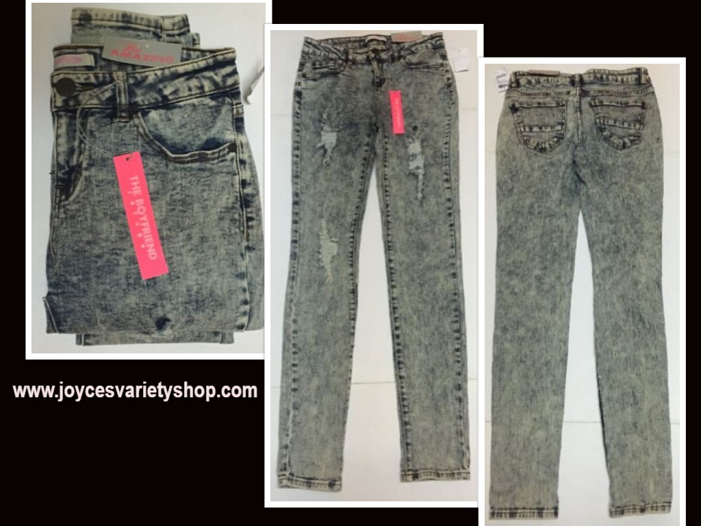 Charlotte Russe Be Amazing Boyfriend Jeans Sz 2 Distressedings/Charlotte-Russe-Be-Amazing-Boyfriend-Jeans-Sz-2-Distressed/649513339