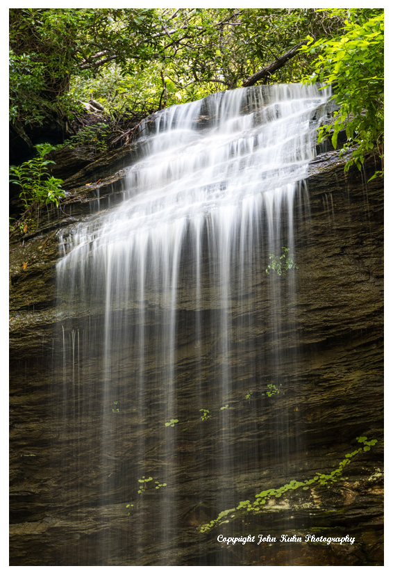 Moore Cove Waterfall, Pisgah National Forest