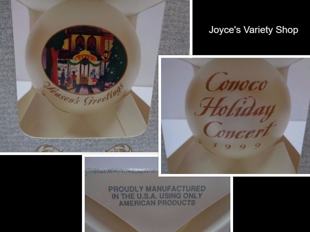 Conoco Concert Series 1999 Classic Ornament NIB Made USA