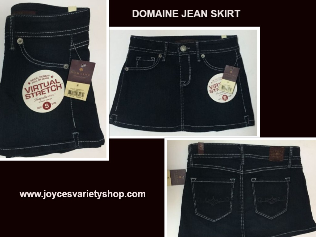 Domaine Jean Short Mini Skirt Juniors Sz S
