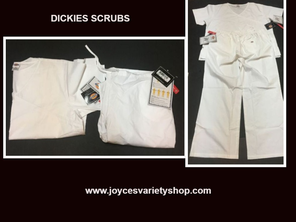 Dickies Relaxed Fit Soft Touch Medical Uniforms Scrubs SZ XL Top & Bottom Set
