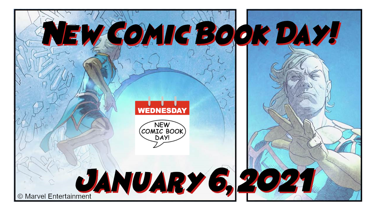 New Comic Book Day New Comics Day NCBD