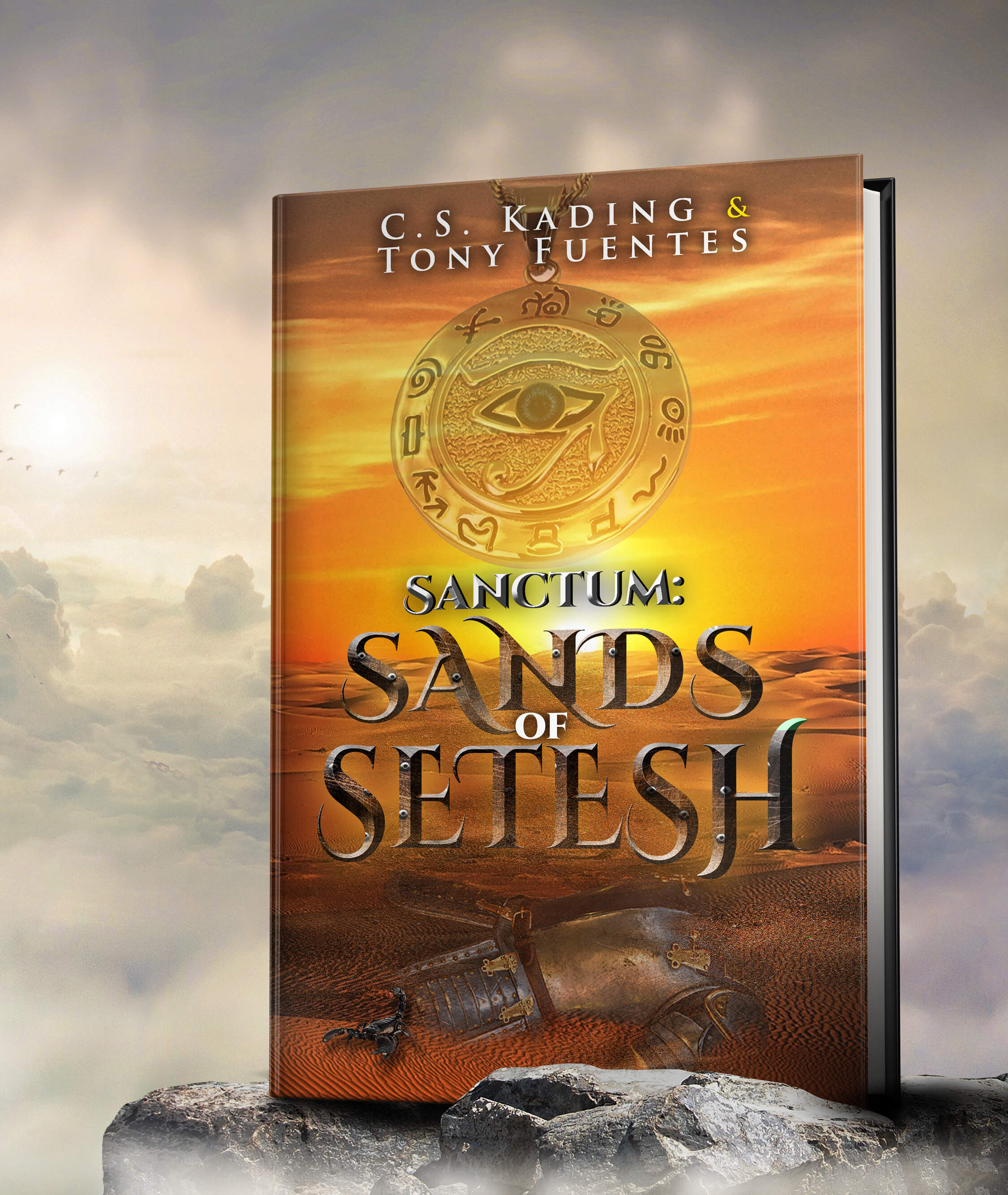 3D image of Sands of Setesh cover