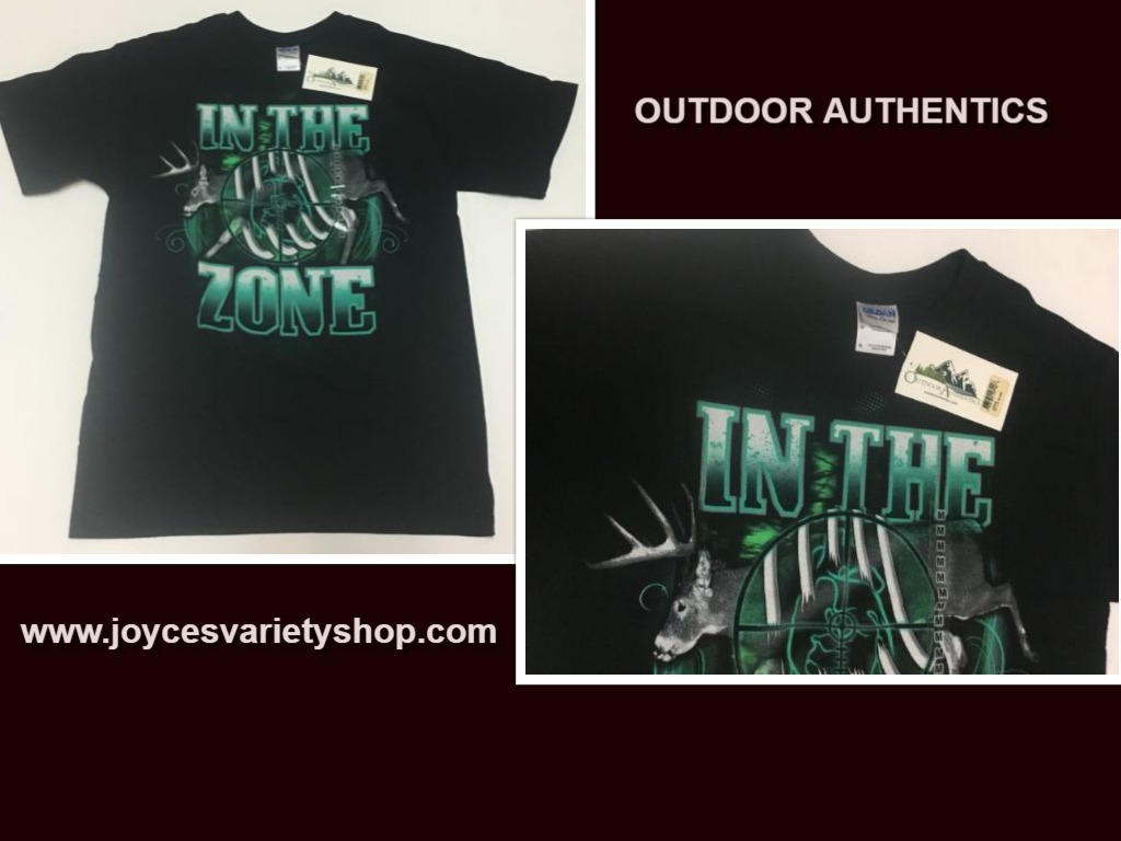 Outdoor Authentics IN THE ZONE Hunting T-Shirt SZ M