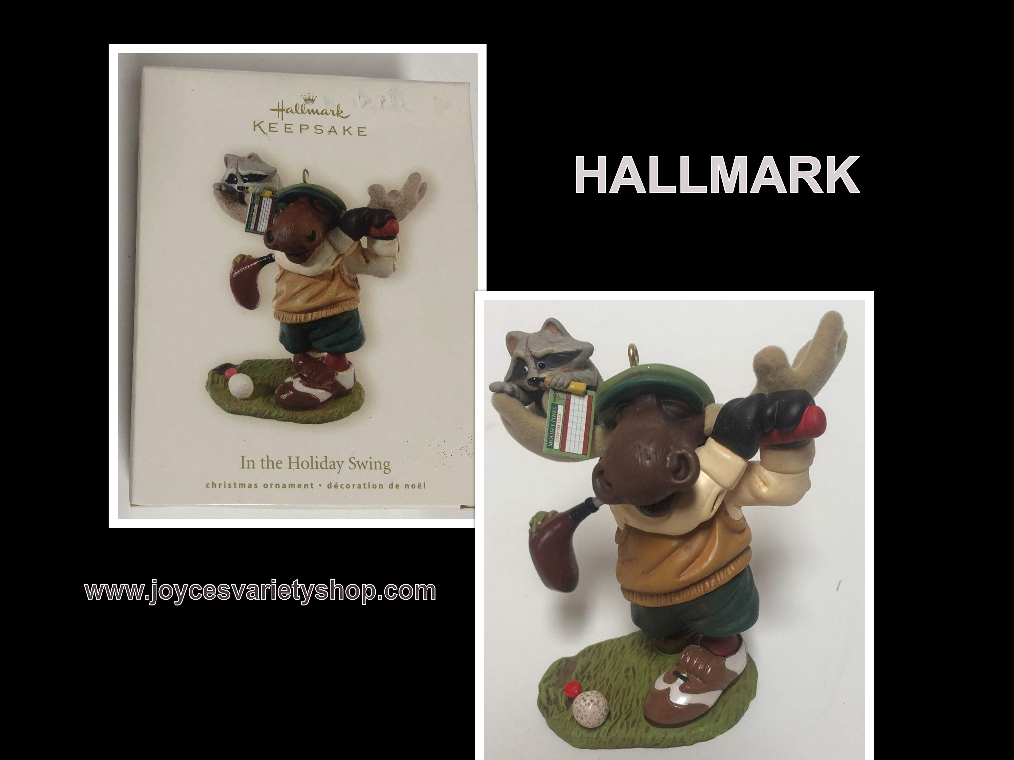 Hallmark Golf Lover Holiday Ornament 2008