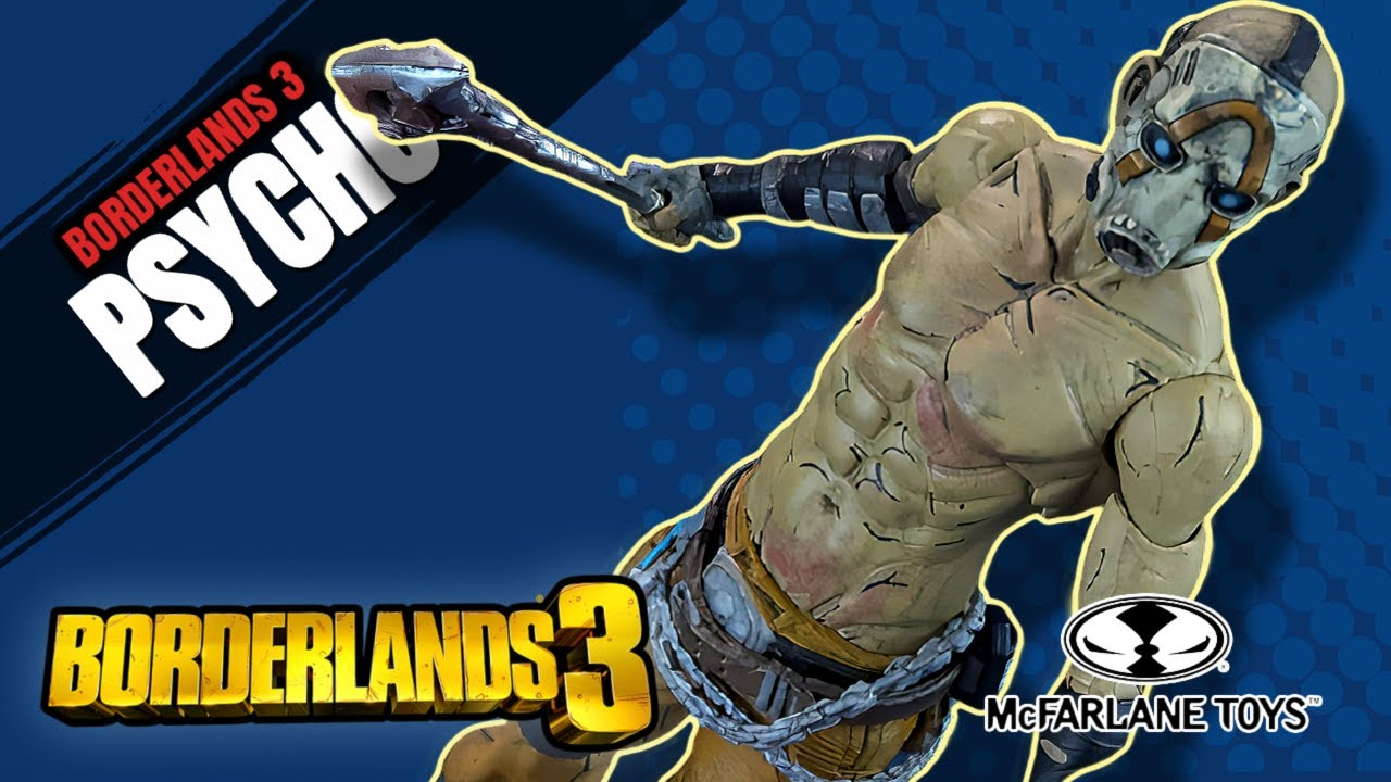 Borderlands 3 Psycho McFarlane Toys Figure