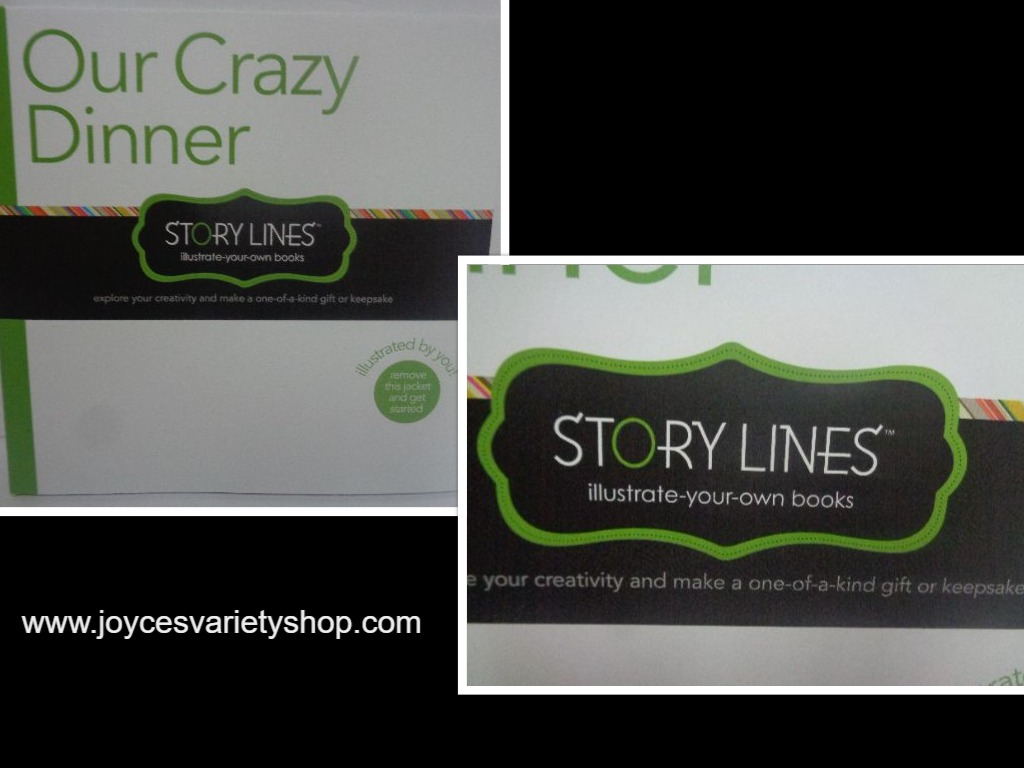 OUR CRAZY DINNER Illustrate Your Own Book Story Lines BRAND NEW