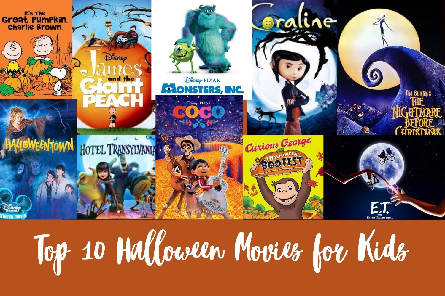 Top 10 Halloween Movies for Little Kids