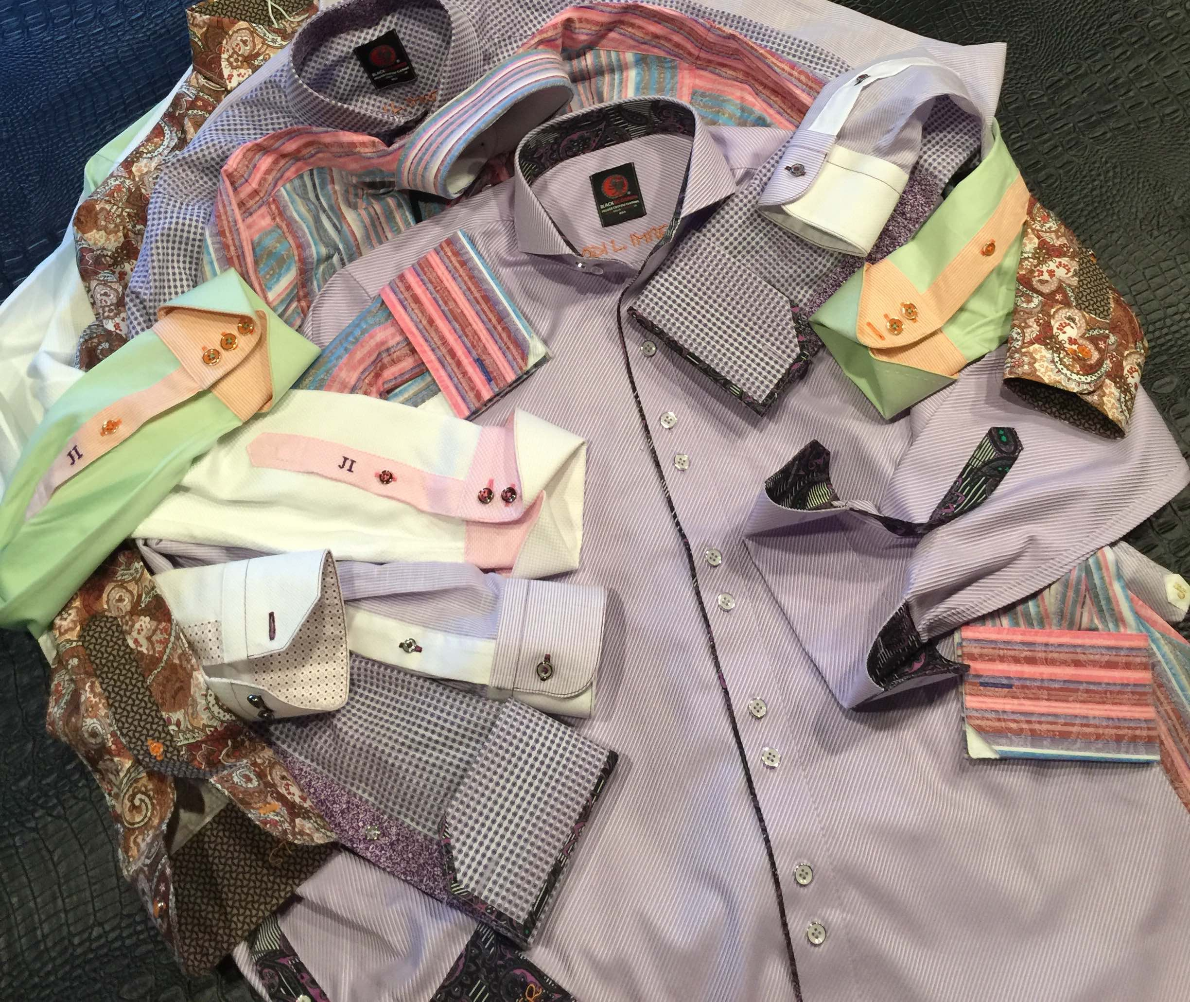 Kalamazoo Custom Suits, Kalamazoo Custom shirts, Kalamazoo Mens suits, Kalamazoo Custom clothing, Black Scorpion Custom Shirts by Sean Chalfin