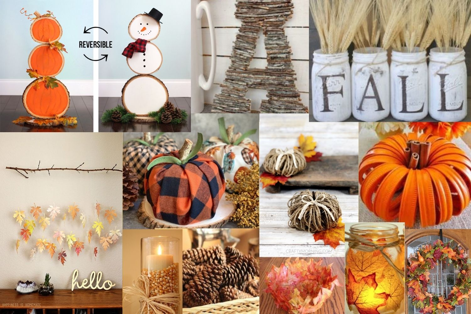 15 DIY Fall Crafts & Décor On A Budget