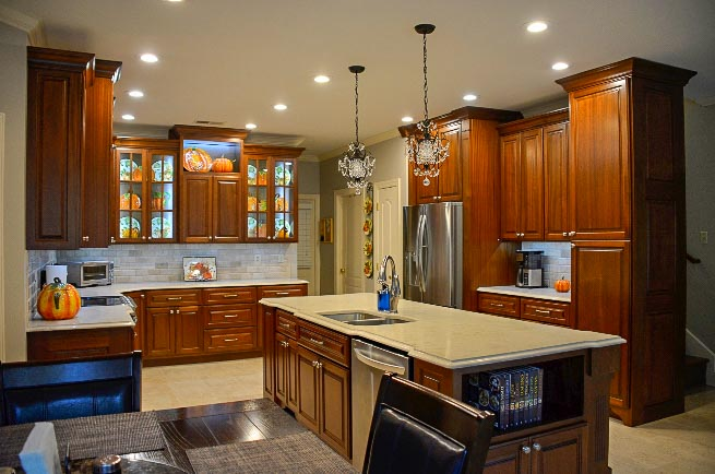 Custom Wood Cabinetry and Kitchen by Custom WoodCraft