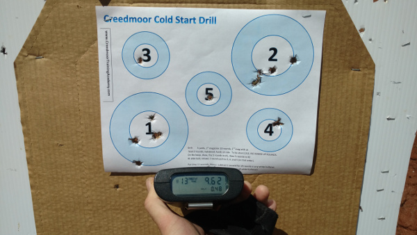 Creedmoor Cold Start Drill