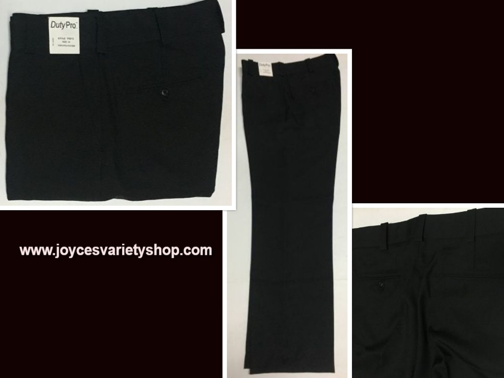 DutyPro Men's Black Pants Sz 34 SnugTex Waistband