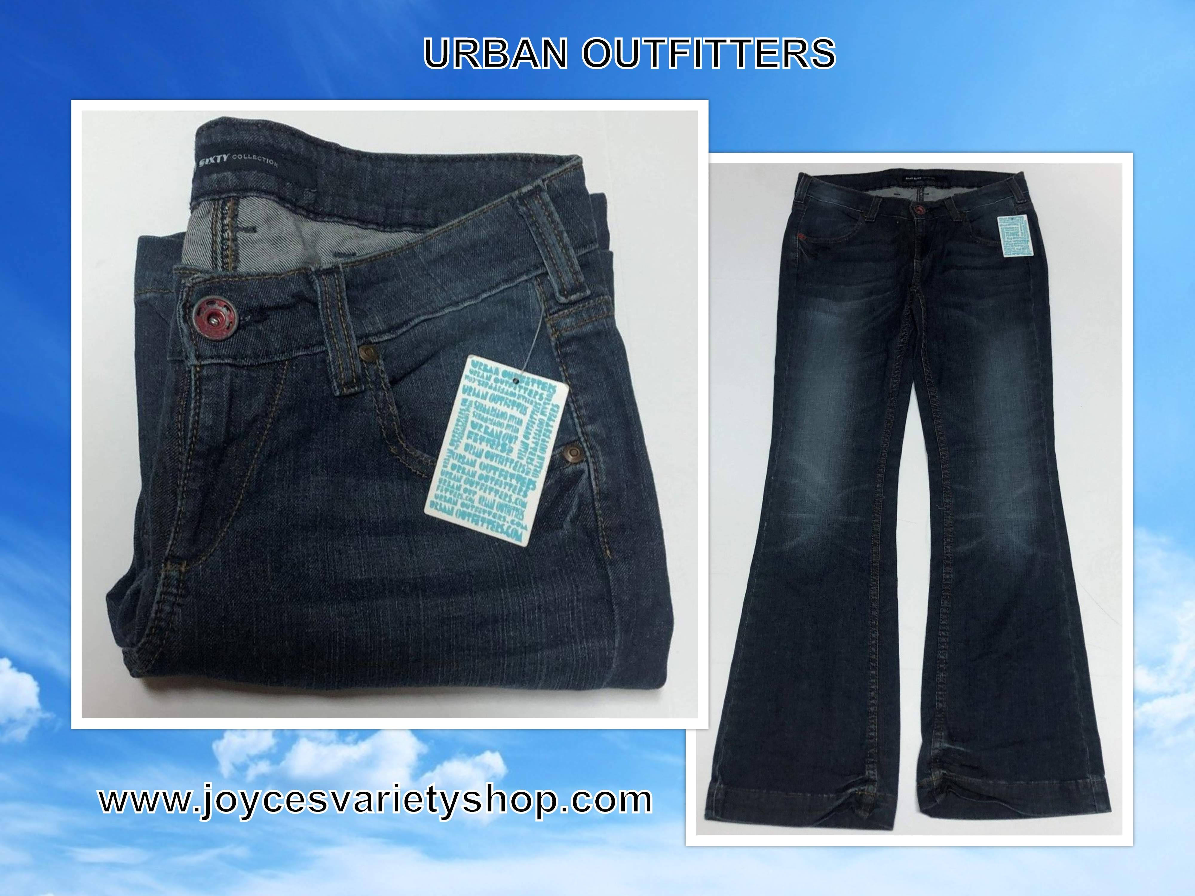 Urban Outfitters Miss Sixty Blue Jeans Sz 30 x 32 Boot Cut