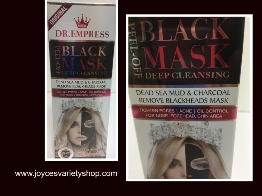 Dr. Empress Black Mask Deep Cleaning Tightens Pores 4.05 OZ