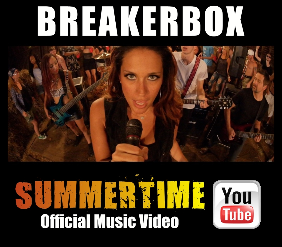 "BREAKERBOX ""SUMMERTIME"" Official Music Video Press Photo"