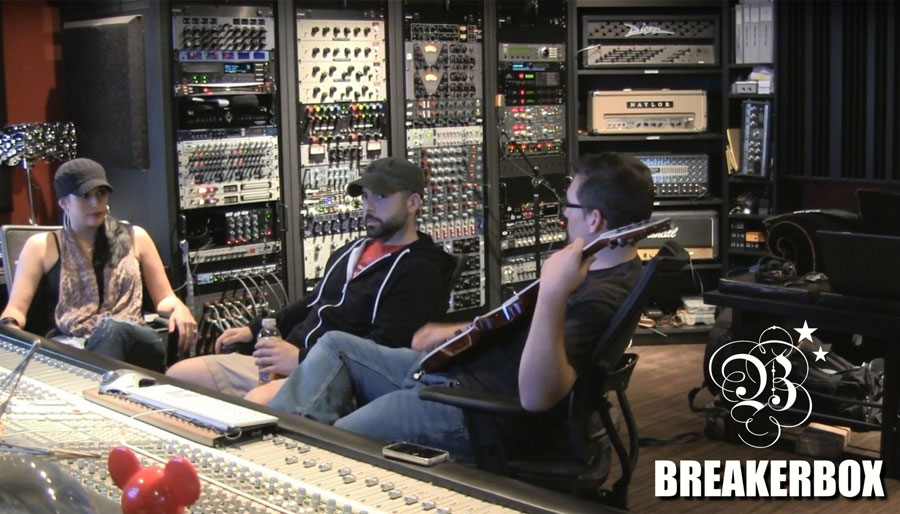 BREAKERBOX with Producer/Engineer Chris Baseford at Atrium Studios