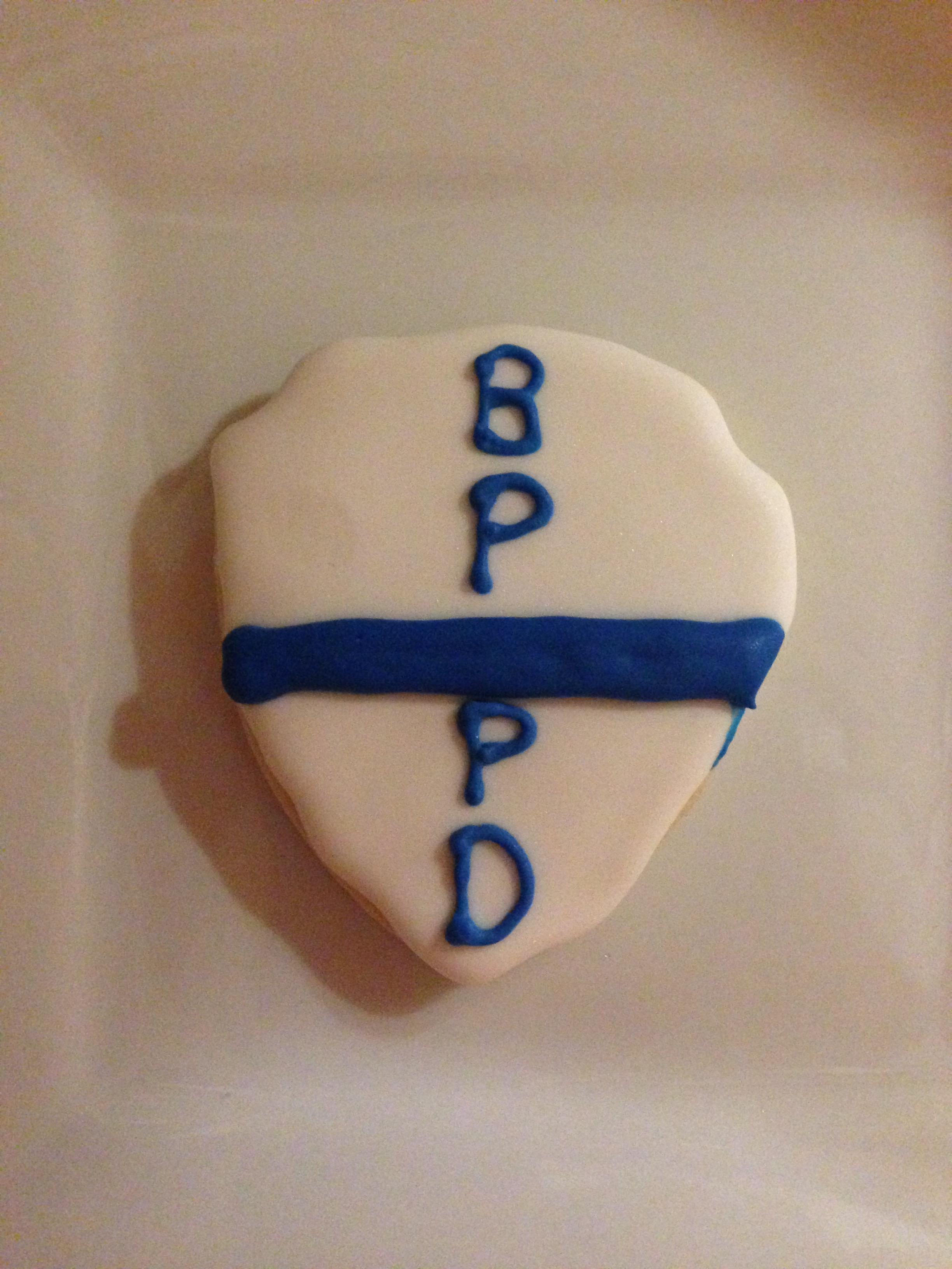 Thin Blue Line Cookie for BPPD