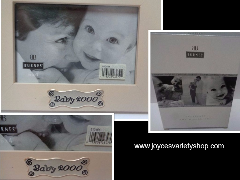 Baby Photo Frame Millennium Year 2000 Burnes of Boston