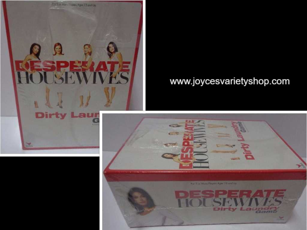 Desperate Housewives Dirty Laundry Game NIB 13