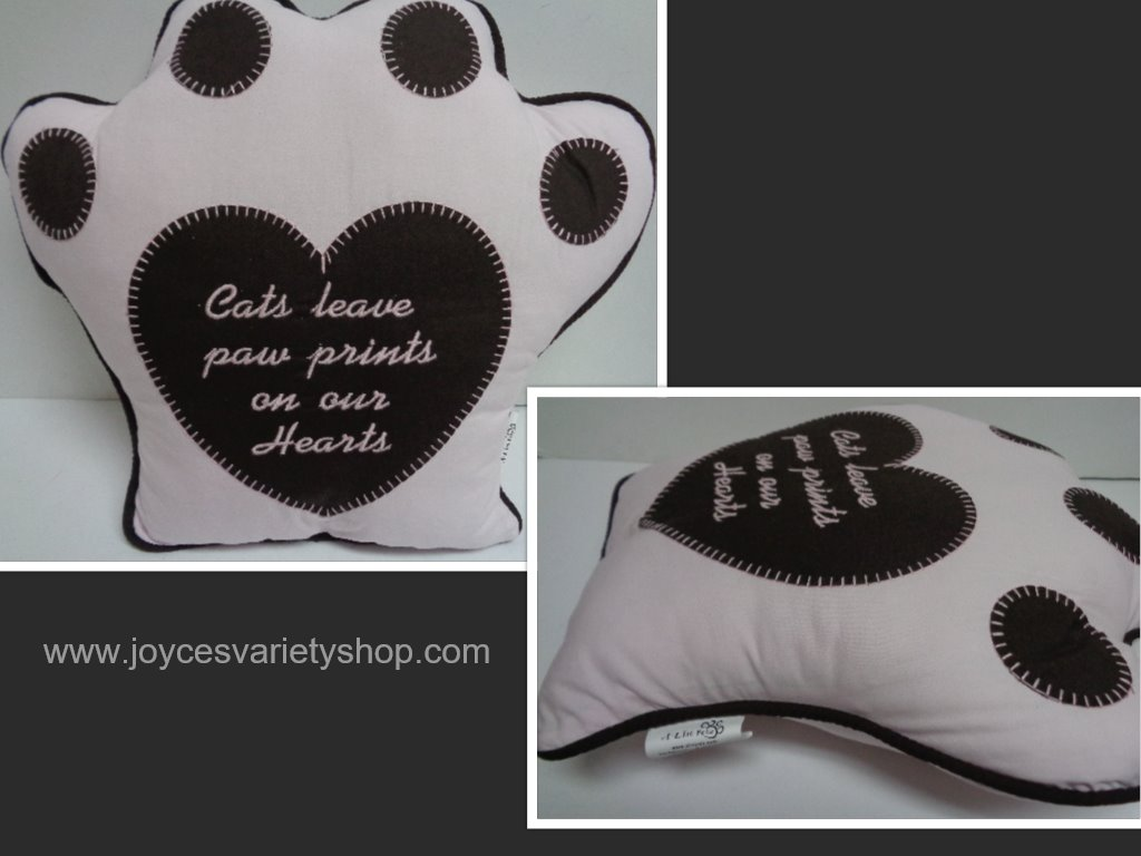 Cat Paw Pillow