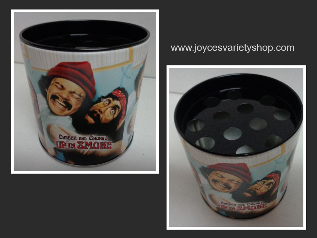 Cheech & Chong Up in Smoke Pics Collectible Ashtray Storage Tin NEW