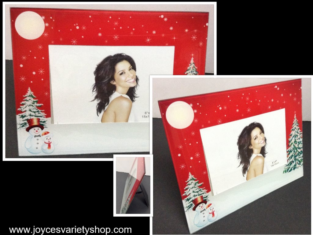 Winter Holiday Photo Frame