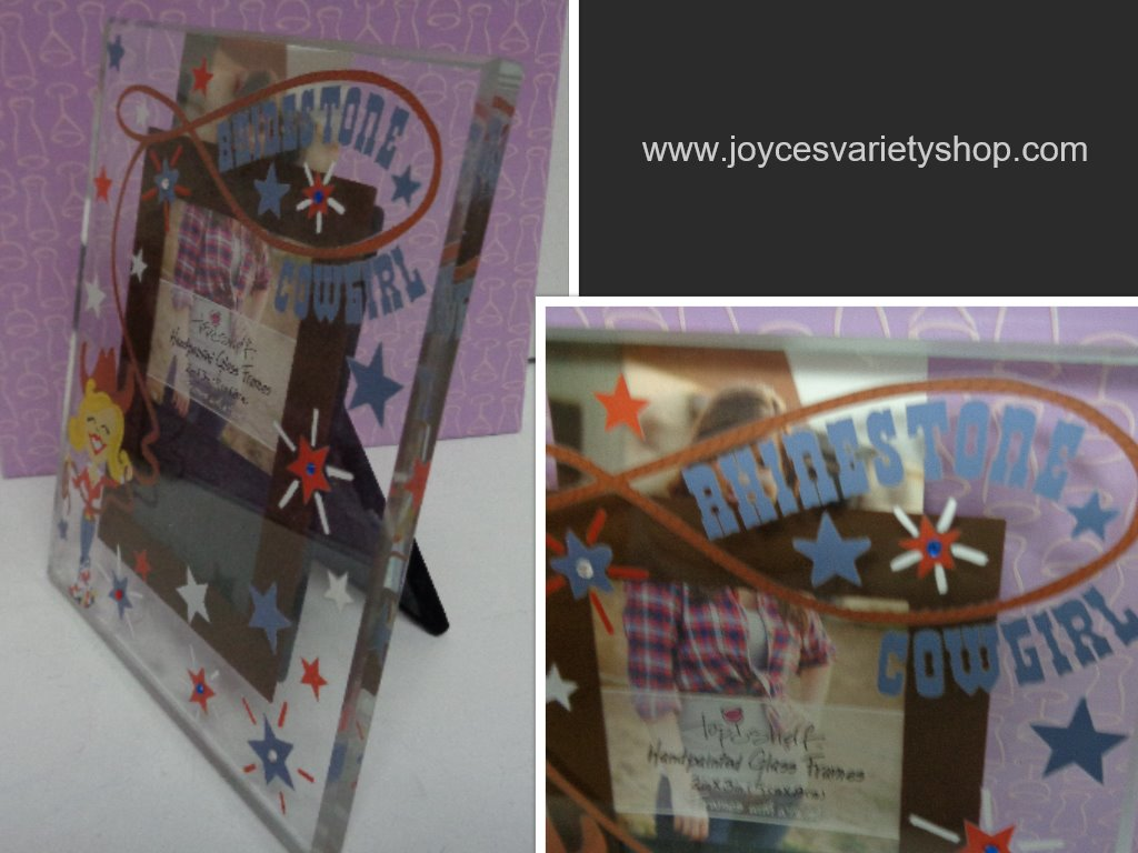 Rhinestone Cowgirl Photo Frame