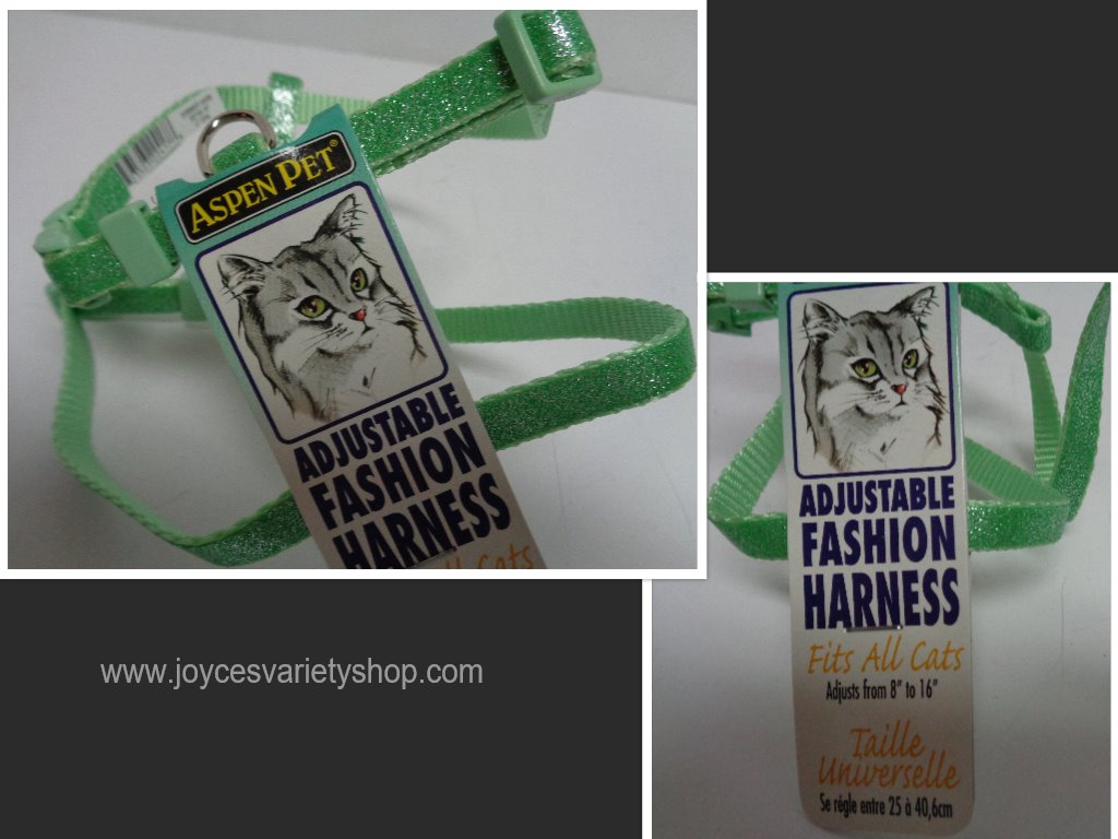 Green Cat Harness