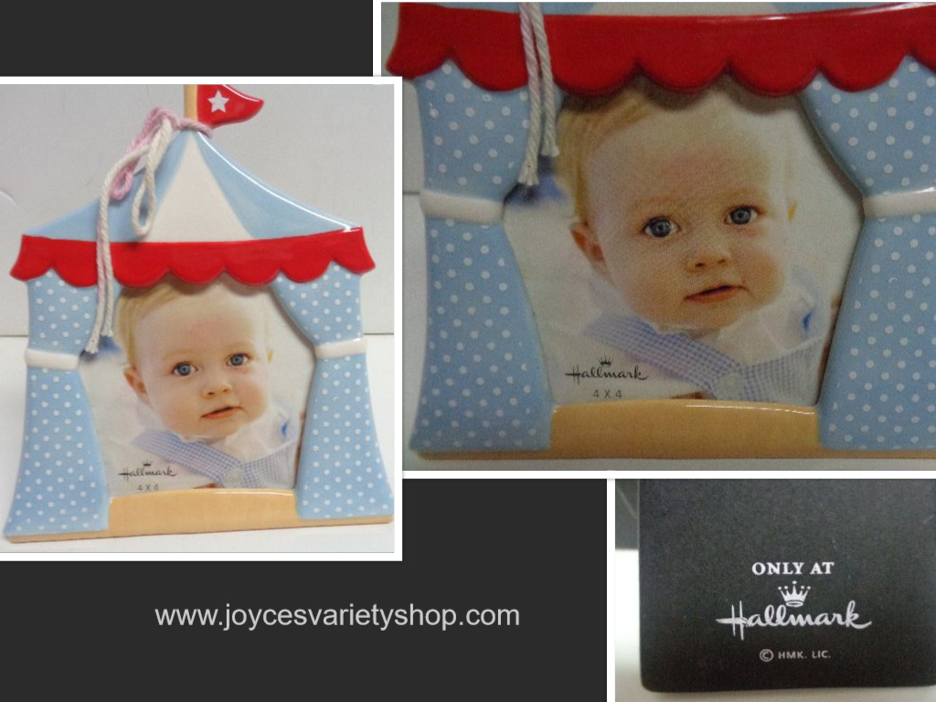 Hallmark Baby Boy Carnival Photo Frame 4 x 4 Photo