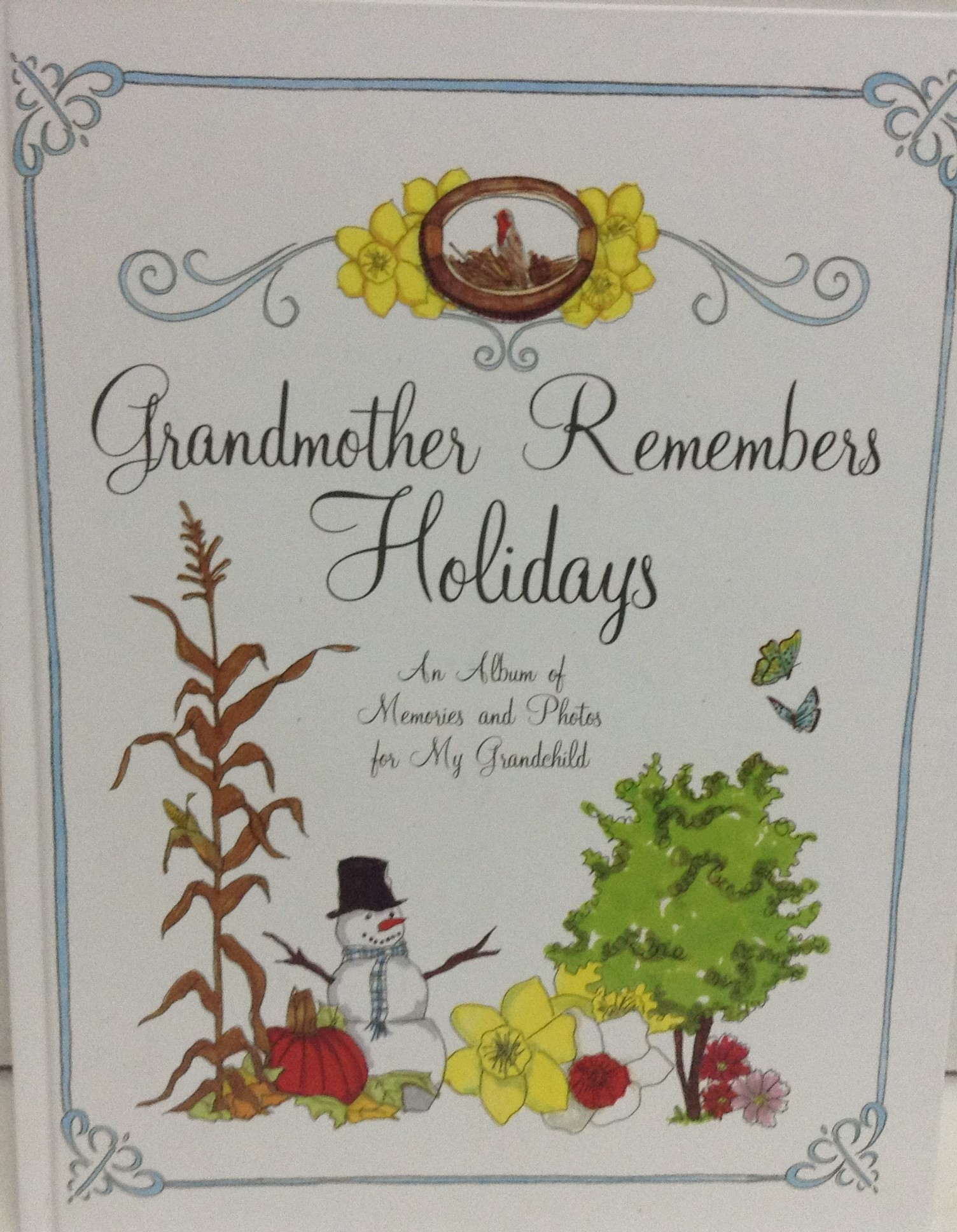Grandmother Remembers Holidays Book