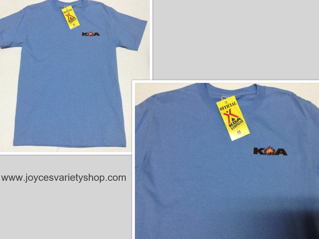 KOA Kamp Gear Shirt Blue