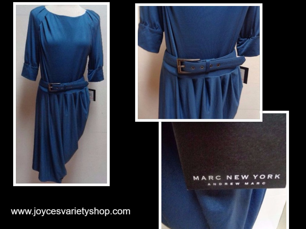 Marc New York Blue Dress NWT SZ 10 Blue