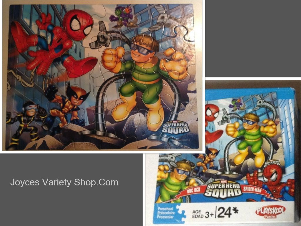 Marvel Hero Kids Puzzle