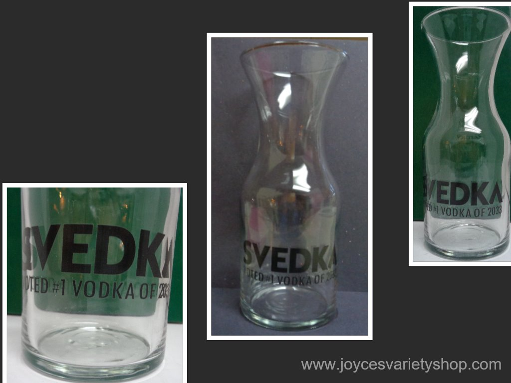 Svedka Vodka Decanter