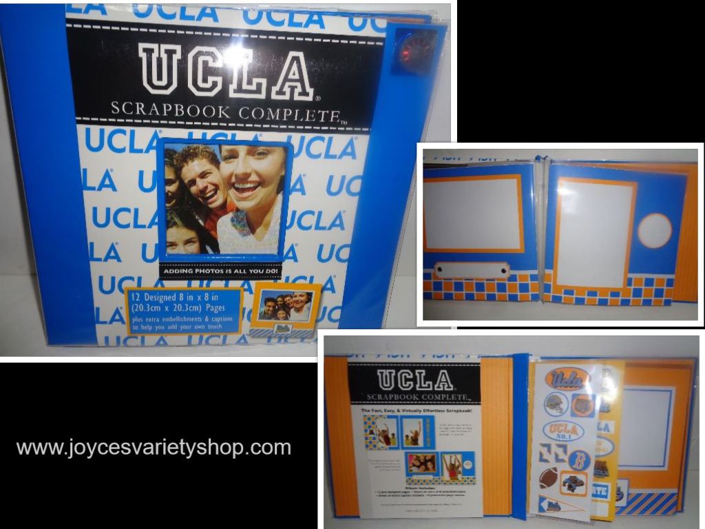 UCLA University Complete ScrapBook NWT Fast Easy Blue Collegiate Licensed