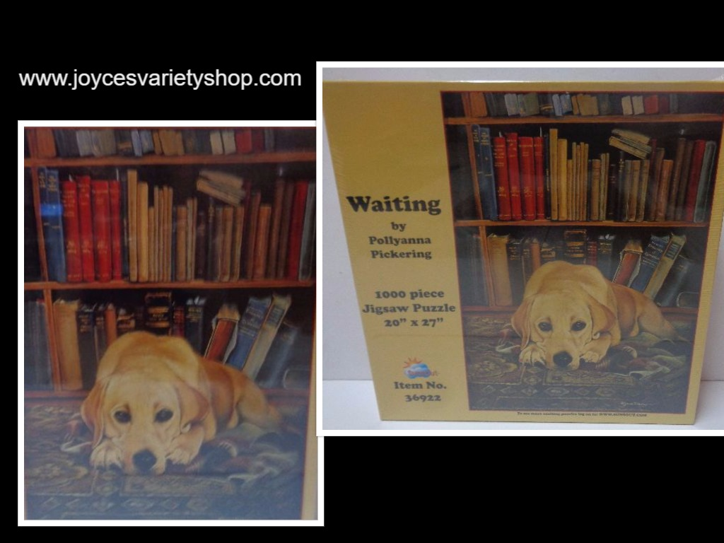 "Waiting by Pollyanna Pickering 1000 Piece Jigsaw Puzzle New Sealed 20"" x 27"" USA"