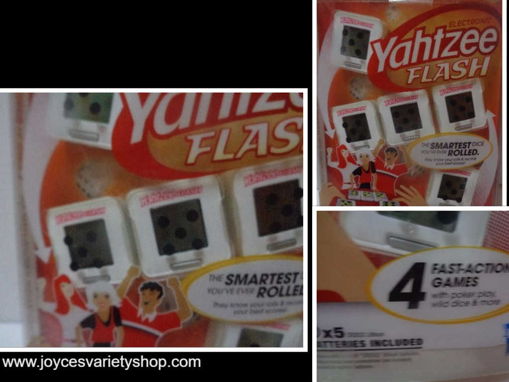 Hasbro Electronic Yahtzee Flash Game