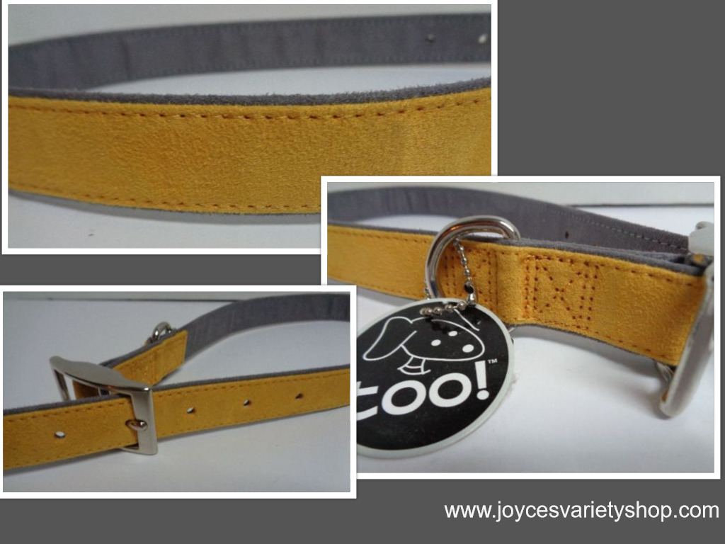 Large Breed Leather Dog Collar