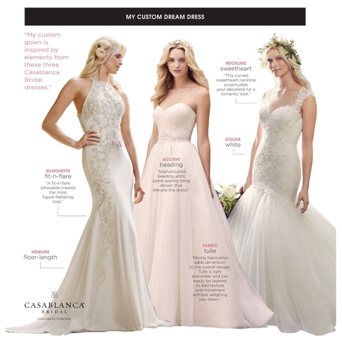 Design Your Dream Wedding Dress
