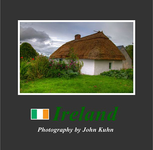 Ireland Photo Book (self published) on sale