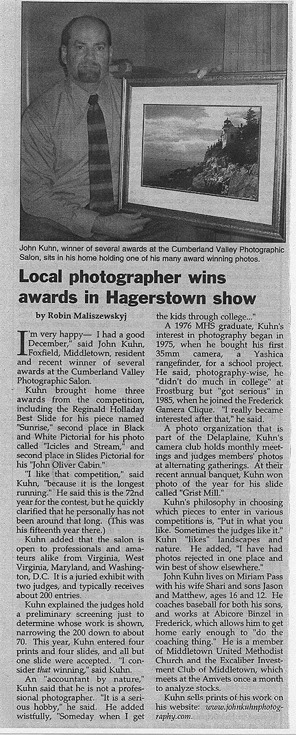 Valley Citizen Article