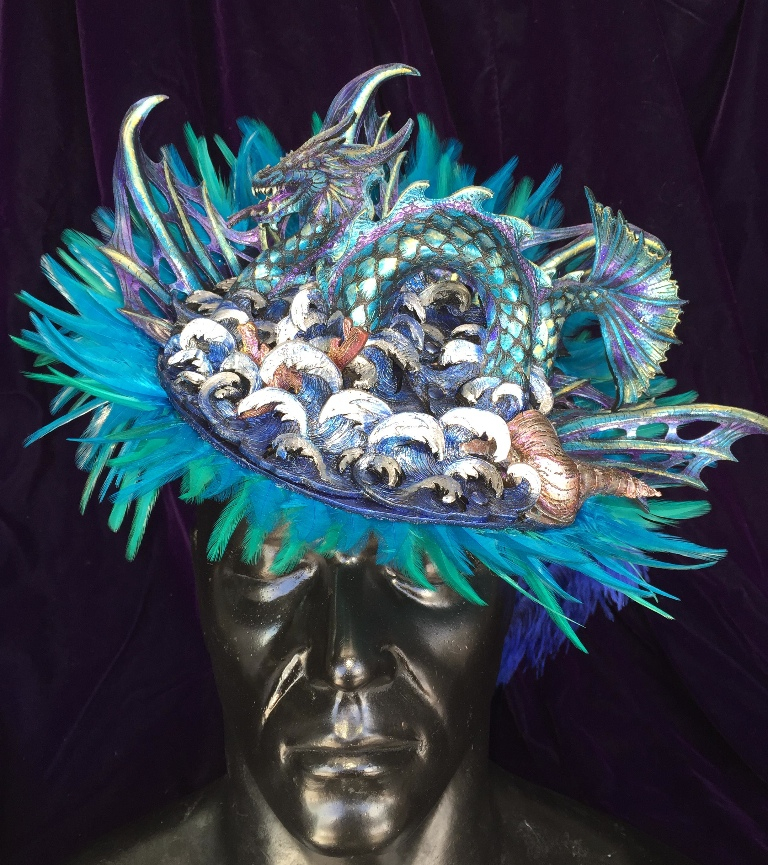Sea Dragon Fascinator